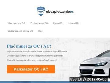 Zrzut strony Ubezpieczenie OC - ubezpieczenie-oc.auto.pl