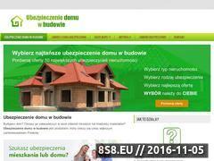 Miniaturka domeny ubezpieczeniedomuwbudowie.pl