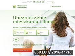 Miniaturka domeny ubezpieczeniemieszkania.pl