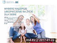 Miniaturka domeny ubezpieczenienazyciekalkulator.pl