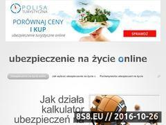Miniaturka domeny ubezpieczenienazycieonline.pl