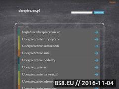 Miniaturka domeny www.ubezpieczeo.pl