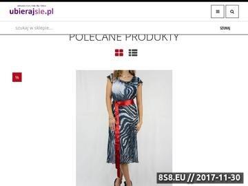 Zrzut strony Ubrania, odzież damska: sukienki, bluzki, swetry