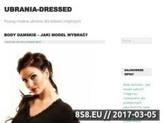 Miniaturka domeny www.ubrania-dressed.pl