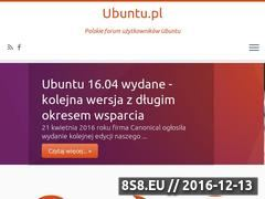 Miniaturka domeny ubuntu.pl