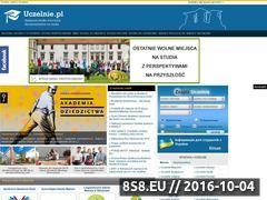 Miniaturka domeny www.uczelnie.pl