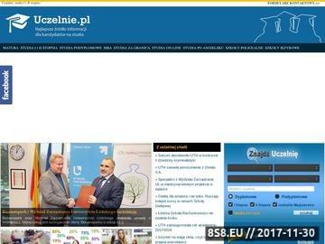 Zrzut strony Uczelnie Warszawa