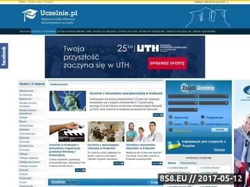 Zrzut strony Kraków - uczelnie