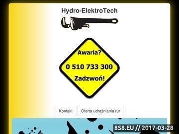Zrzut strony Hydraulik - udrażnianie rur czyli hydraulik Warszawa