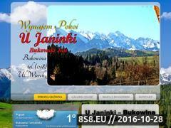 Miniaturka domeny www.ujaninki.pl