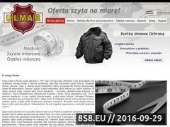 Miniaturka domeny www.ulmar.net.pl