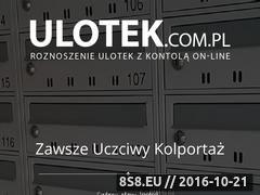 Miniaturka domeny ulotek.com.pl