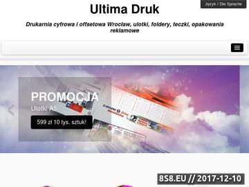 Zrzut strony Drukarnia Wrocław