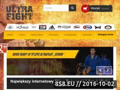 Miniaturka domeny ultrafight.pl