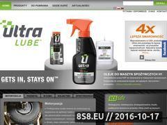 Miniaturka domeny www.ultralube.com.pl