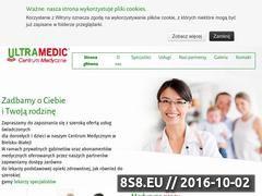 Miniaturka domeny ultramedic.com.pl