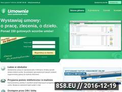 Miniaturka domeny www.umownie.pl