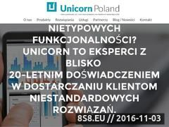 Miniaturka domeny www.unicorn.pl