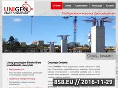 Miniaturka domeny www.unigeo.pl
