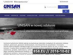 Miniaturka domeny www.unisan.net.pl
