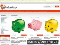 Miniaturka domeny www.upominkowiec.pl