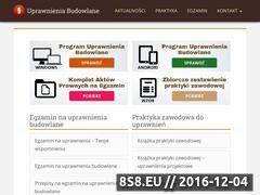 Miniaturka domeny uprawnieniabudowlane.pl