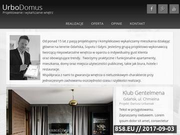 Zrzut strony Urbodomus usługi budowlane