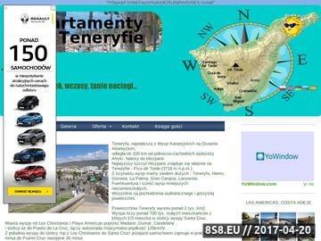 Zrzut strony Urlop na Teneryfie