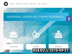 Miniaturka domeny uroczystedekoracje.pl