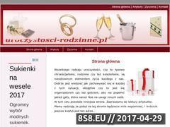 Miniaturka domeny www.uroczystosci-rodzinne.pl