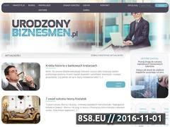 Miniaturka domeny urodzonybiznesmen.pl