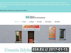 Miniaturka domeny www.urszulazdybel-biuro.pl