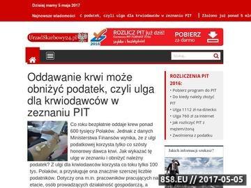 Zrzut strony Urząd Skarbowy - Vademecum