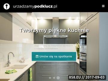 Zrzut strony Projekty wnętrz - Urzadzamypodklucz.pl