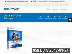 Thumbnail of USB Drive Data Recovery Website
