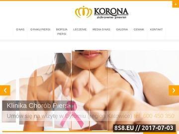 Zrzut strony USG Piersi - zapobieganie i leczenie raka piersi, guza piersi - Marek Janisz