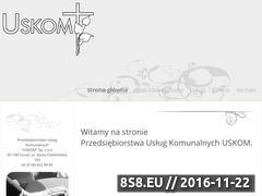 Miniaturka domeny uskom.pl