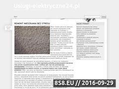 Miniaturka domeny uslugi-elektryczne24.pl