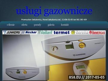 Zrzut strony Serwis piecyków Kraków