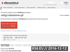 Miniaturka domeny www.uslugi-internetowe.pl