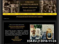 Miniaturka domeny www.uslugi-kamieniarskie.eu