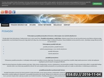 Zrzut strony Posadzki Przemysłowe - wylewki anhydrytowe
