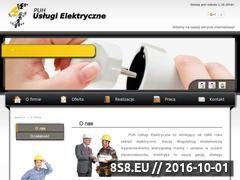 Miniaturka domeny uslugielektryczne.net