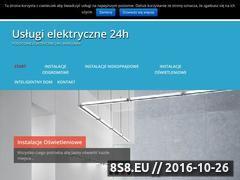 Miniaturka domeny uslugielektryczne24.pl
