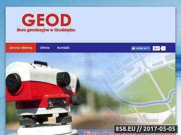 Zrzut strony GEOD - geodezja