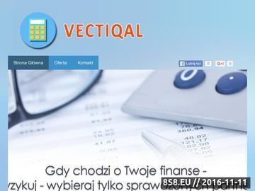 Zrzut strony Biuro rachunkowe Vectiqual