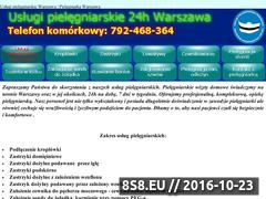 Miniaturka domeny uslugipielegniarskie24h.pl
