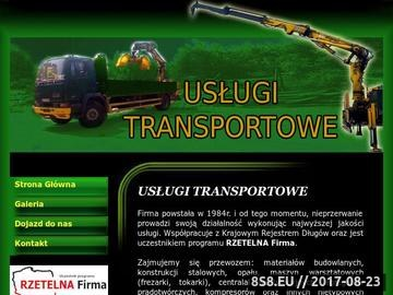 Zrzut strony Usługi transportowe Andrzej Świeć transport opału