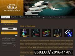Miniaturka domeny www.uslugiweselne.pl