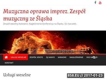 Zrzut strony VENTO - zespół weselny Śląsk